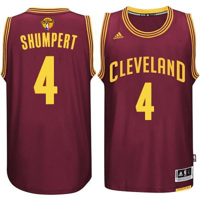 Big Discount Cleveland Gear Cavaliers #4 Iman Shumpert 2015 16 Finals Red WGW285