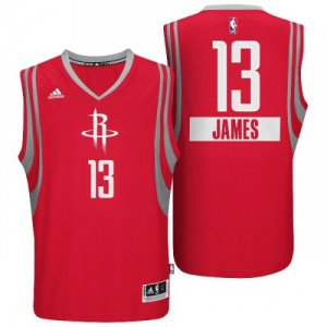 Breathable Houston Rockets #13 James Harden 2014 Christmas Day Big Logo Red Swingman Clothing WKV1934