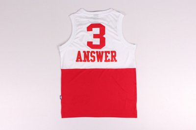 Durable Superstar Allen Iverson 003 Apparel QNL80