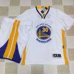Hot Sale Online Warriors #30 Stephen Curry White A Set Stitched NBA NBP4251