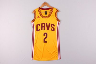 New Release Cleveland Cavaliers 2 Irving yellow dress Gear UPA4335