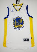 Newest Golden State Warriors #10 LEE White Basketball Material FAL1758