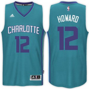 Novelty Charlotte Hornets #12 Dwight Howard 2017 18 Alternate Teal Swingman Apparel HJS602