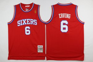 Novelty Philadelphia 76ers #6 erving Gear Red 2016 The Season UXL3265