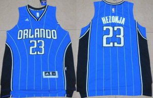 Outlet Orlando Magic #23 Mario Hezonja Revolution 30 NBA Swingman 2015 Blue RAE3145