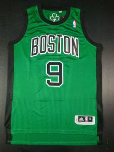 Tailored Boston Celtics #9 Green Basketball WCV472