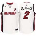 The Cheapest Miami Heat #2 Wayne Ellington 2016 17 Alternate Jerseys White Swingman VSZ2609