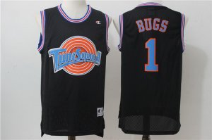 for wholesale The Movie Space Jam #1 Bugs Gear Bunny Black Soul Swingman Basketball RUQ1448