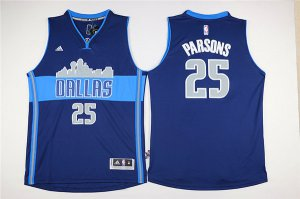 2018 Cheap Mavericks #25 Chandler Merchandise Parsons Navy Blue The City Stitched SPM1274