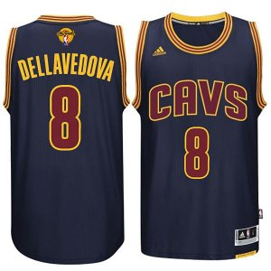 Authentic Cleveland Merchandise Cavaliers #8 Matthew Dellavedova 2015 16 Finals Navy Blue QGN296