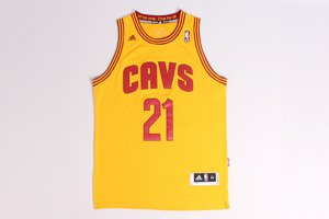 Buy Discount Andrew Wiggins Apparel Cleveland Cavaliers #21 yellow INC1211