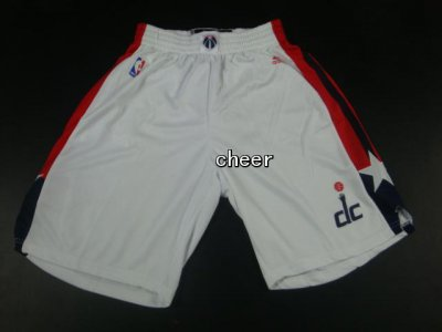 Buy Discount Washington Wizards white shorts 126 Apparel SXU4322