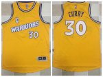 Classic version Golden State Gear Warriors #30 Curry Warriors Throwback yellow XDY1630