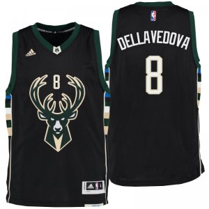 Discount Gear Milwaukee Bucks Matthew Dellavedova 2016 Alternate Black Swingman ZRL2812