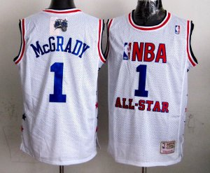 Genuine Orlando Magic #1 Tracy McGrady Tracy McGrady Merchandise 2003 all star White DXE145