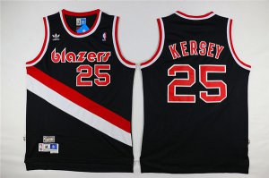 Hot Portland Trail Blazers Jerome Basketball Kersey #25 Black Hardwood Classic Swingman Stitched NWW3463