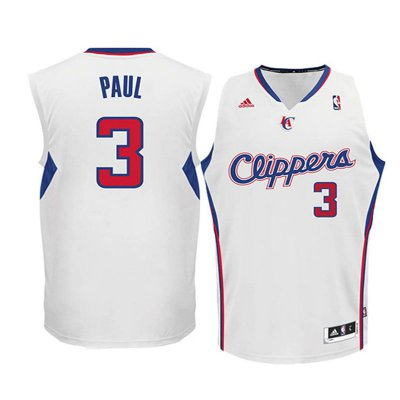 Hot Youth Los Angeles Clippers Jersey #3 Chris Paul White Swingman HOL2035