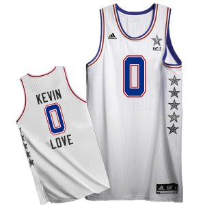 Lowest Price 2015 all star eastern NBA 0 kevin love white TNW149