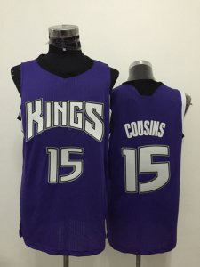 Manufacturer's delivery Sacramento Kings #15 Jersey cousins purple JHA3569