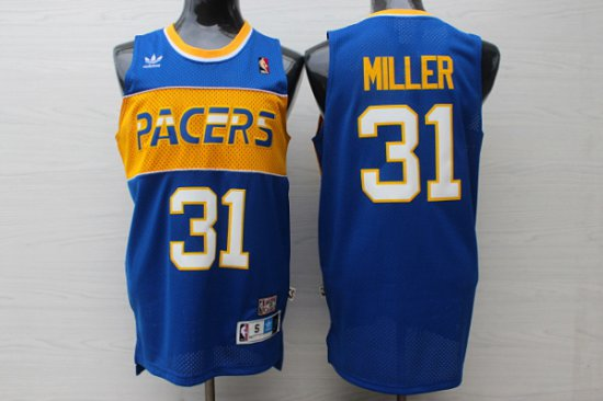 buy online bd3aa 0095f New 2018 1985 1990 Apparel Indiana Pacers #31 Reggie Miller ...