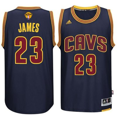 Official Quality 2016 Cavaliers Finals #23 James Sleeved Apparel black KRC237