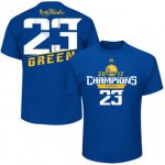 On Sale Golden State Basketball Warriors Draymond Green Majestic Royal 2017 Finals Champions Name & T Shirt RLQ1533