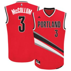 On Sale Jerseys Men's Portland Trail Blazers C.J. McCollum Red Alternate Replica YFG3464