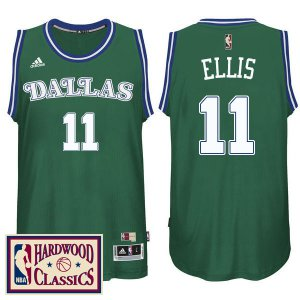 Online sales Dallas Mavericks #11 Monta Ellis 2016 17 Gear Season Green Hardwood Classics Throwback Swingman XCZ1263