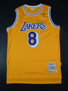 Outlet Clothing Los Angeles Lakers #8 Bryant Yellow GXI2502