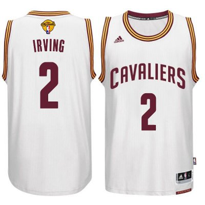 Shop Discount Jerseys Cleveland Cavaliers #2 Kyrie Irving 2015 16 Finals White UYF267