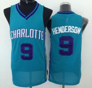 Thin versio Revolution 30 Merchandise Hornets #9 Gerald Henderson Light Blue Stitched UJR654