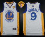 Wholesale Warriors #9 Andre Jersey Iguodala White The Finals Patch Stitched Revolution 30 HQL1724