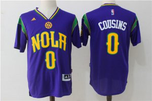 products Pelicans #0 DeMarcus Jersey Cousins purple Stitched JEM2909