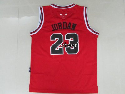 Buy 2018 Kids Chicago Bulls #23 Jordan Basketball red LOT2083