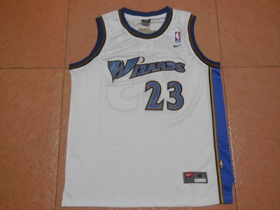 Cheap 2018 Nike Washington Wizards Home #23 Jerseys Michael Jordan Throwback Swingman Men BVQ4186