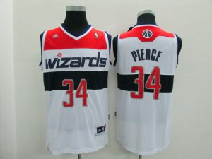 Exactly Fit NBA Washington Wizards #34 Paul Pierce Home White BZD4193