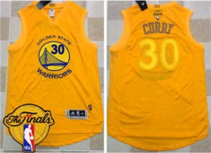 Find Quality Products Warriors #30 Stephen Curry Gold AU 2017 Apparel The Finals Patch Stitched SYK1848