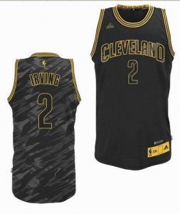 For Sale Cleveland Cavaliers #2 Kyrie Irving Black Swingman Gear FMH1219
