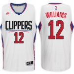 For Sale Los Angeles Clippers #12 Louis Williams Home White Swingman Basketball BPQ2268