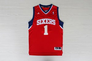 Guarantee Quality Philadelphia Sixers Carter Williams #1 Red Clothing UYH3291