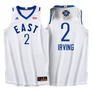 Hot Sale Online 2016 All Star Eastern Conference Cavaliers #2 Kyrie Irving Clothing White XDR311