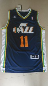 On Sale Dante Exum blue Basketball Utah Jazz 11 EPJ4154