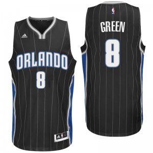 On Sale Orlando Magic #8 Jeff Green 2016 Alternate Black Clothing Swingman EVK3151