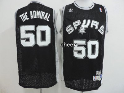 Shopping San Antonio Spurs Merchandise #50 the admmiral black PFE3682