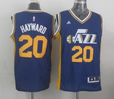 The Cheapest Mens Utah Jazz Gordon Hayward Navy Blue 2014 15 Swingman Road Apparel PSV4136