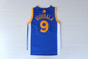 Top Quality Iguodala #9 warriors NBA blue ZML1833