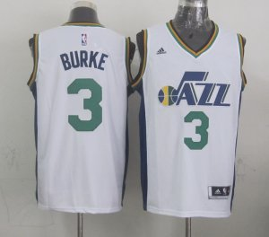 Unique design Trey Burke Utah Jazz Merchandise White 2014 15 Swingman Home JAY4144