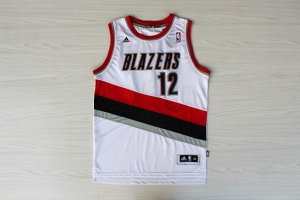 cheaper Merchandise Portland Trail Blazers #12 aldridge white AGW3475