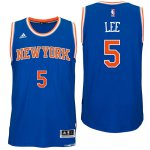 good quality York Knicks #5 Courtney Lee 2016 Road Blue NBA Swingman VDU2980