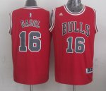 100% Hight Quality Jerseys Chicago Bulls #16 gasol red POJ771
